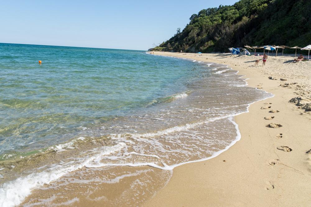 Пляж в Обзоре, Болгария