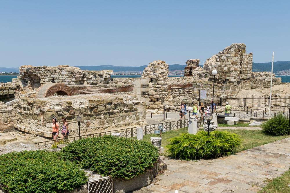 Руины Старого Несебра