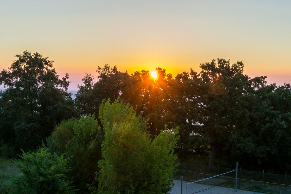 рассвет в Болгарии