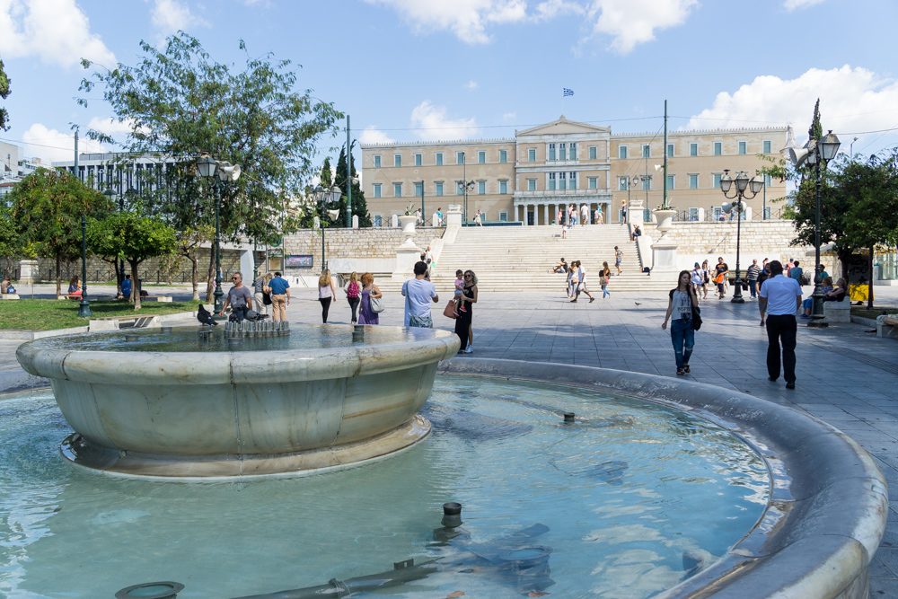 Дворец Греческого Парламента