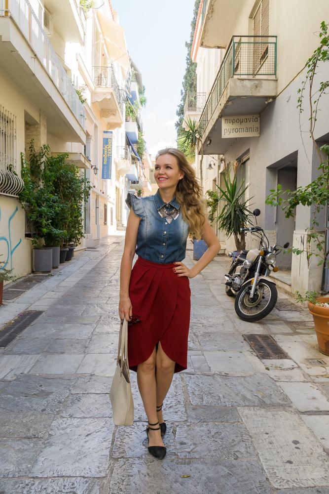 Улицы Афин, Греция