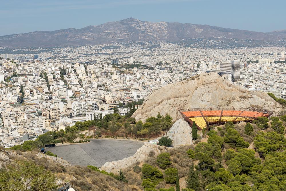 Панорамные виды Афин, Греция
