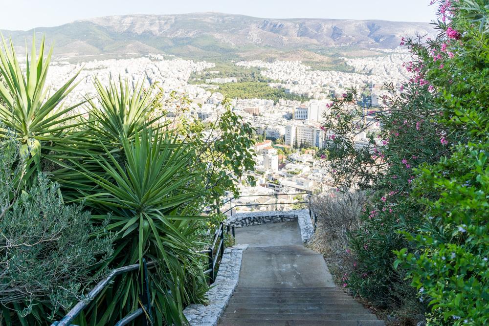 Афины с Волчьей горы