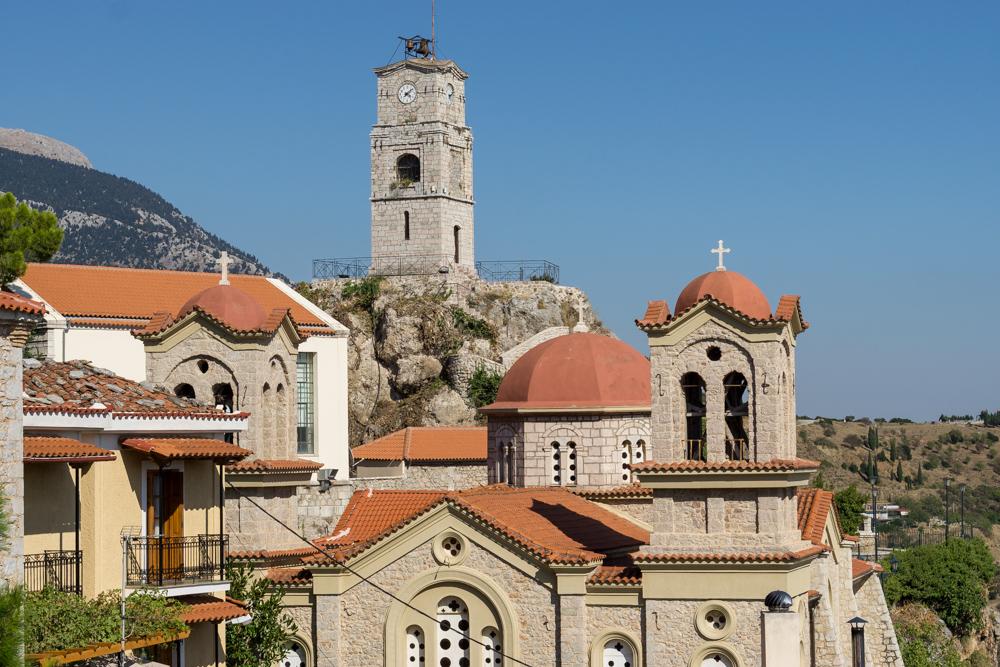 Арахова, Греция