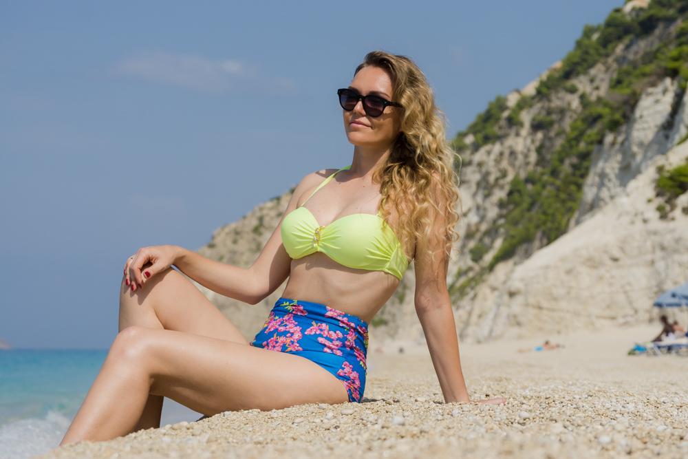 Пляж Эгремни, Лефкада