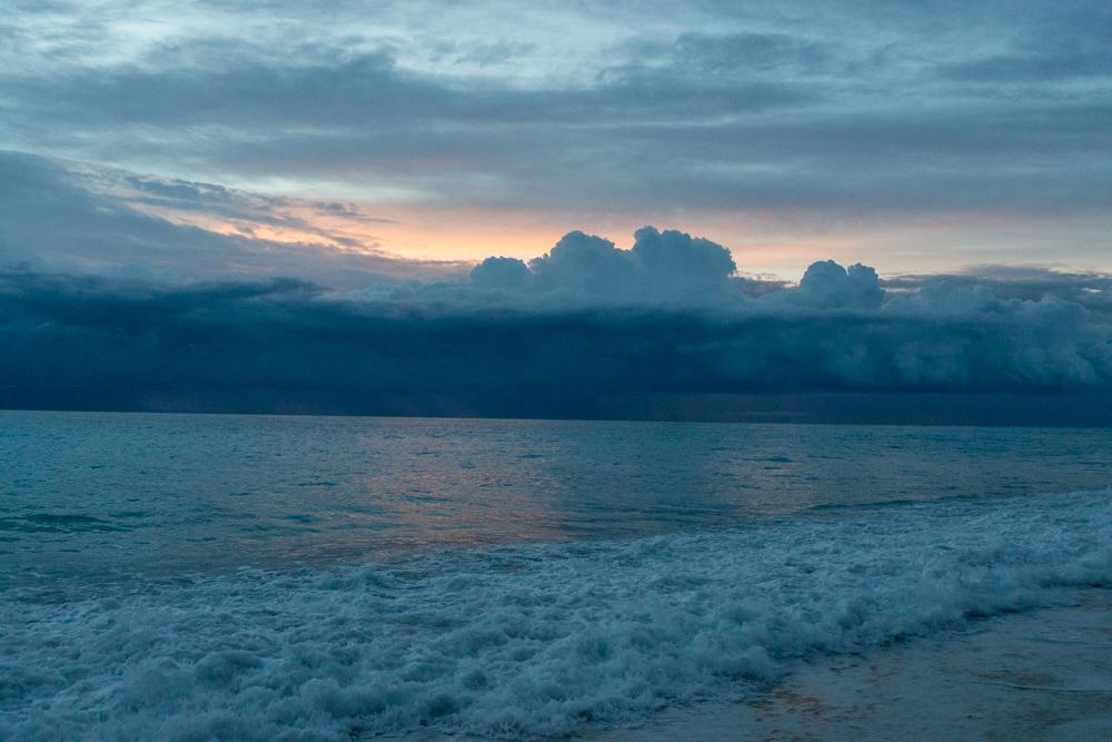 Предзакатные облака, Лефкада