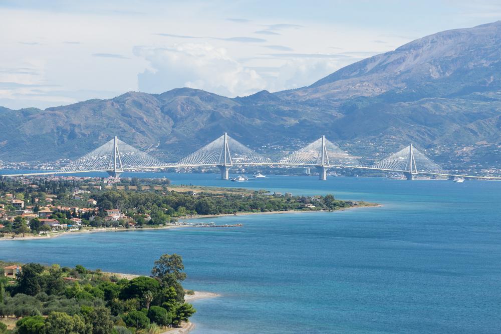 подвесной мост Рион-Андирион