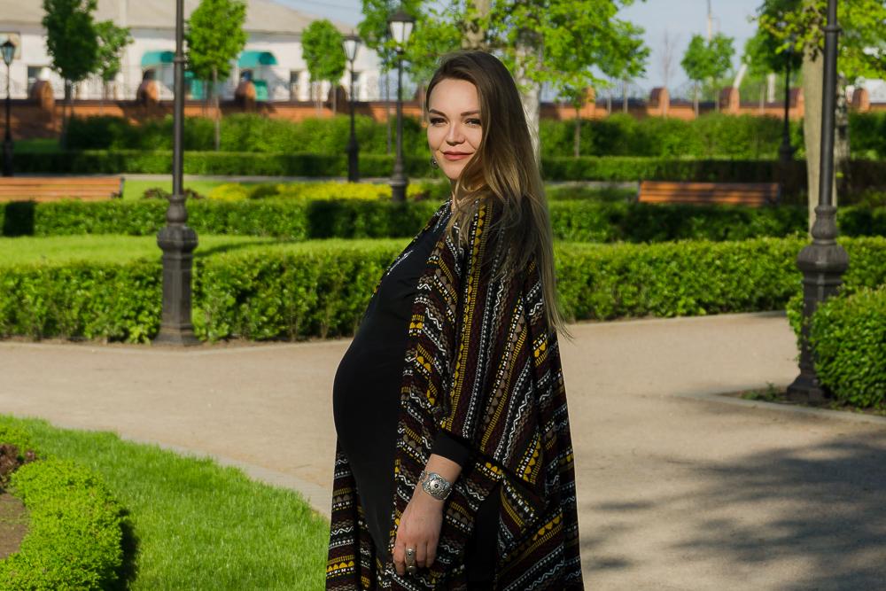 беременный стиль