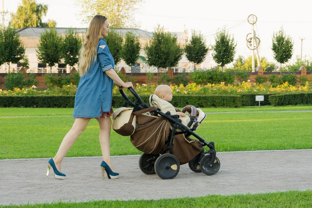 Мама на каблуках