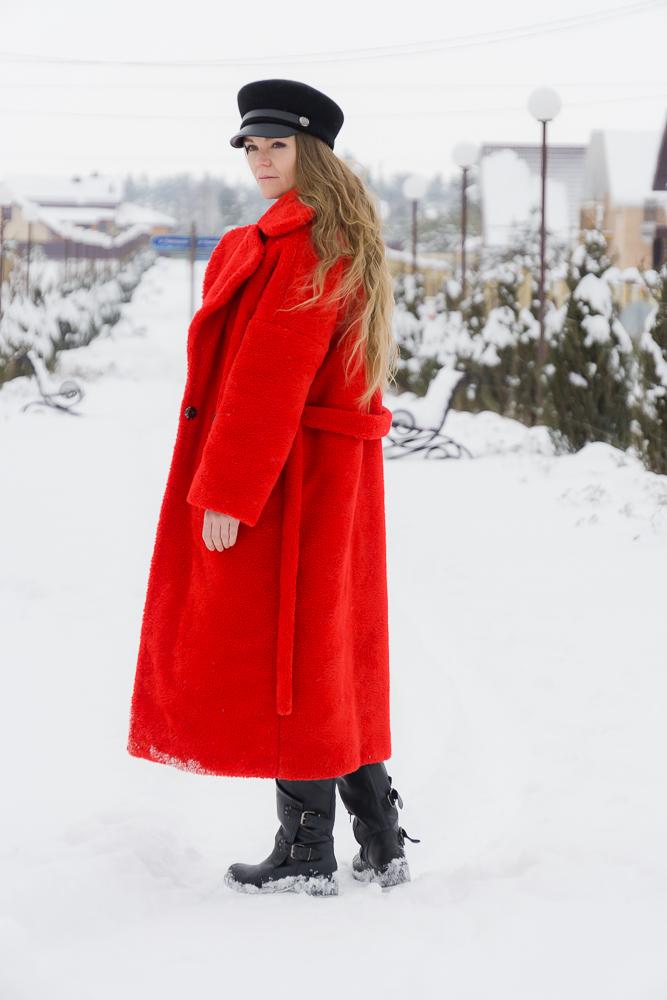 Красная экошуба